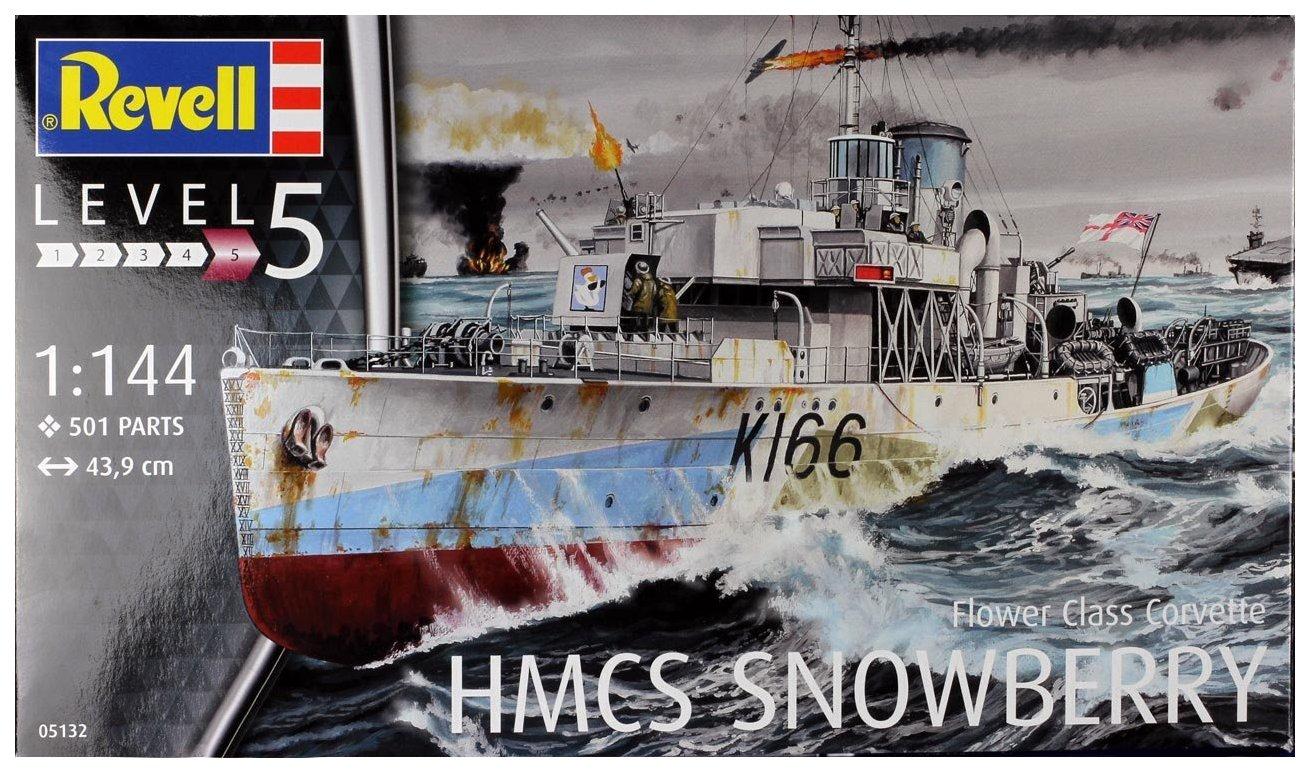 Купить Модели для сборки Revell Flower Class Corvette - HMCS Snowberry,