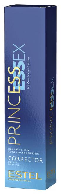 Краска для волос Estel Professional Princess Essex Correct 0/22 Зеленый 60 мл