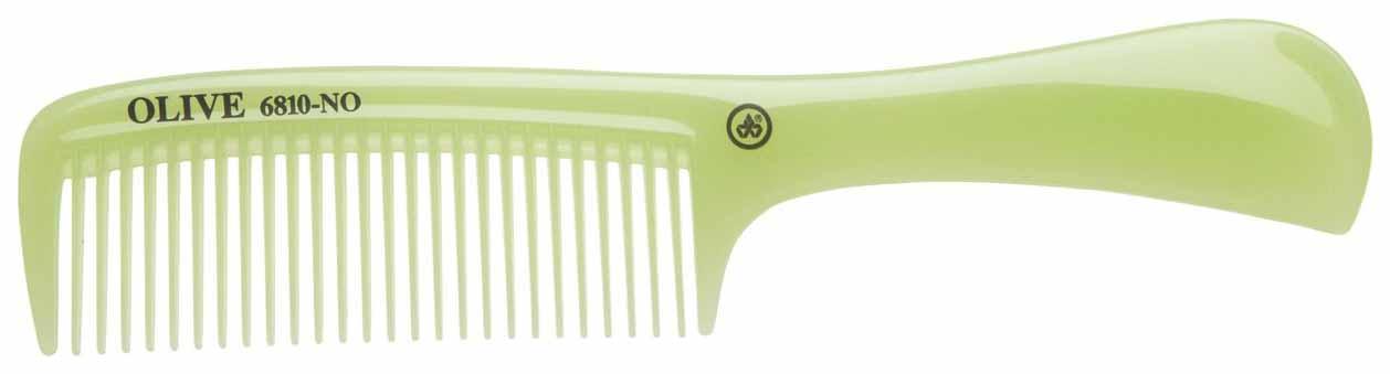 Купить Расческа Dewal Olive С ручкой 20, 5 см Зеленый