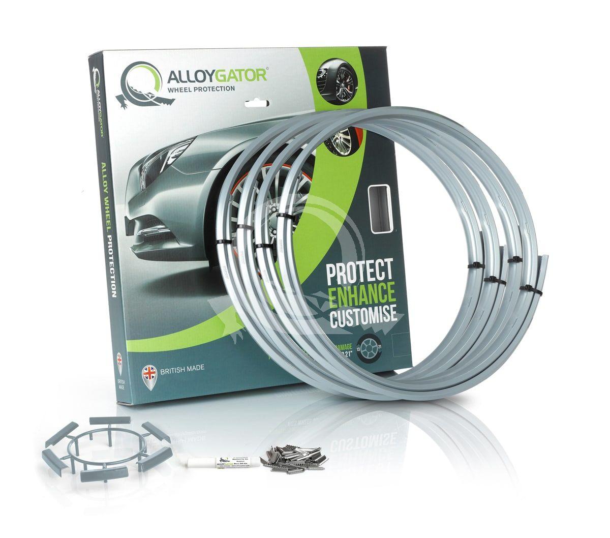 Защитные кольца на диски AlloyGator R13-21 серебряные фото