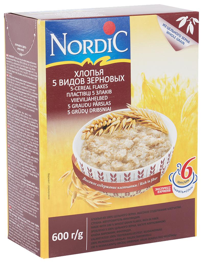 Готовые завтраки, каши, мюсли Nordic или Готовые завтраки, каши, мюсли Ого! — что лучше