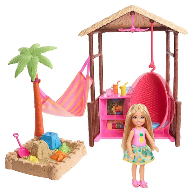 Купить Кукла Mattel Barbie FWV24 из серии Путешествия, Куклы Barbie