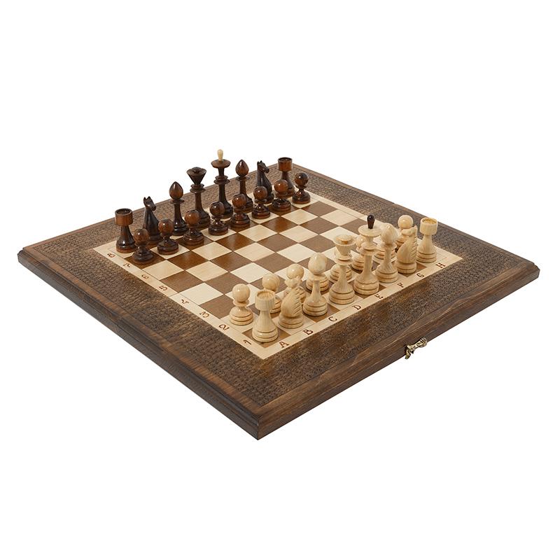 Купить Шахматы и Нарды резные Haleyan 50,