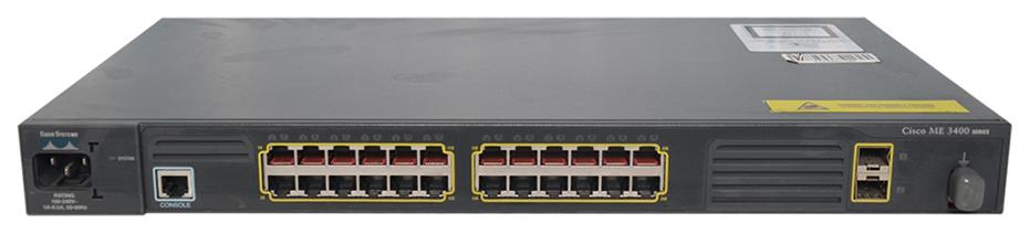 Коммутатор Cisco ME-3400-24TS-A Black фото