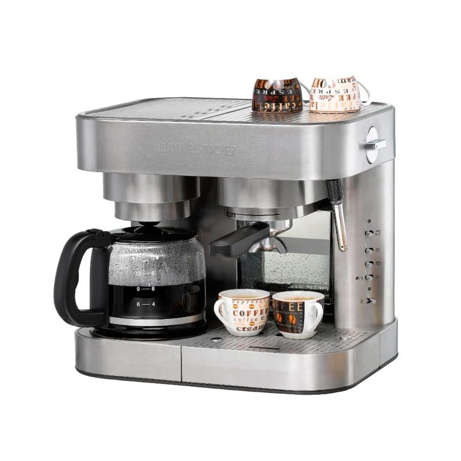 Рожковая кофеварка Rommelsbacher EKS 3010 Silver