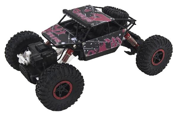 Купить Радиоуправляемая машинка JD Toys Краулер 4WD 1:18 2.4G Красная, Радиоуправляемые машинки