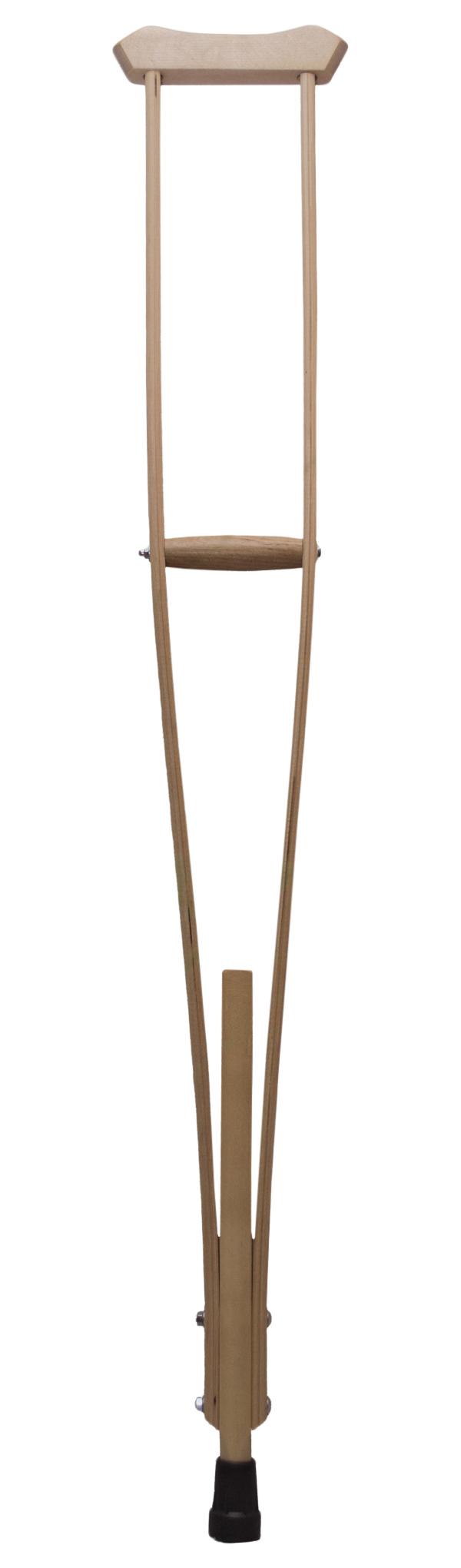 Костыли Aversus подмышечные деревянные с ручкой