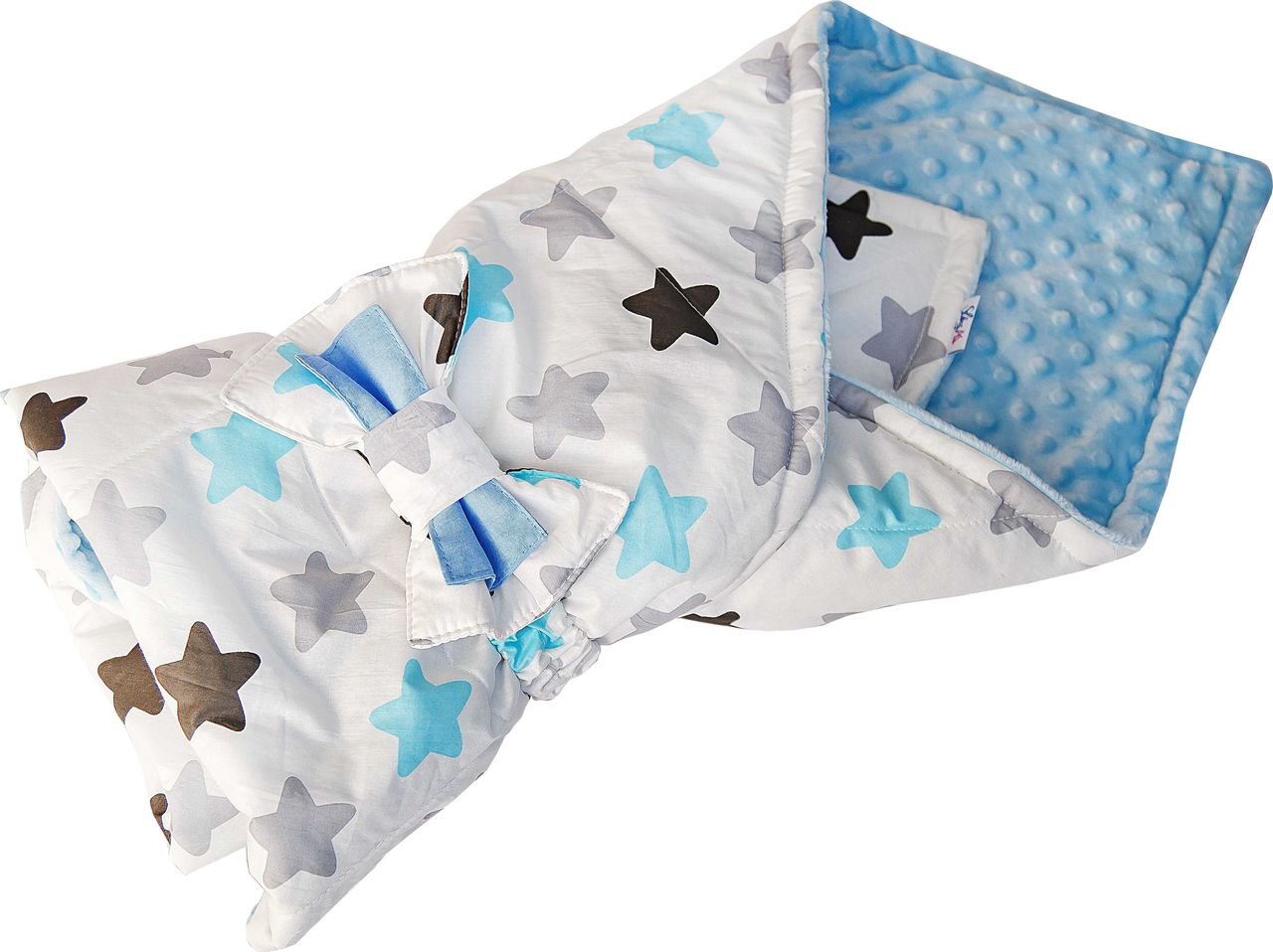 Конверт одеяло SlingMe Star белый