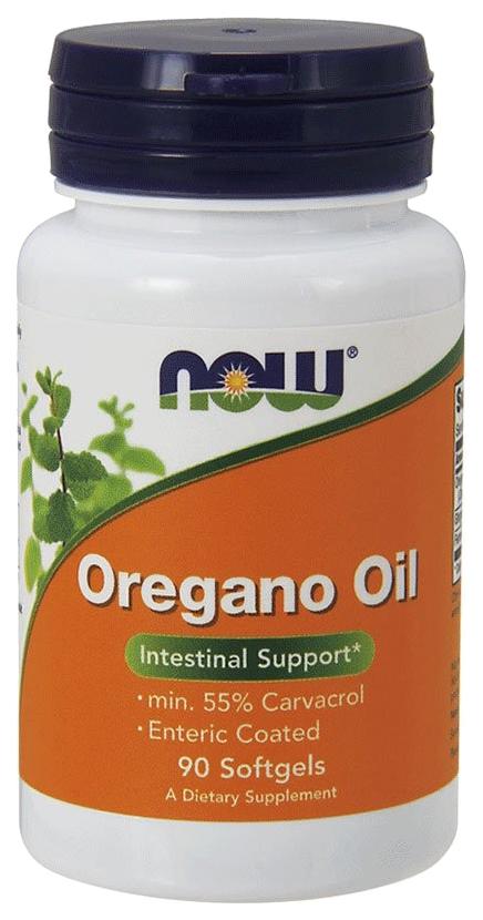 Купить Другие масла и жиры NOW Oregano Oil 90 капс.