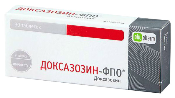 Доксазозин таблетки 2 мг 30 шт.