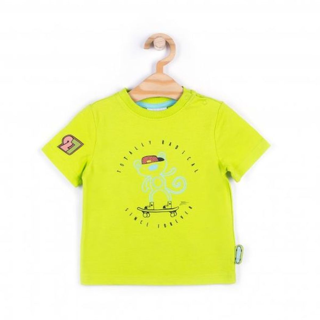 Купить W181432M2SKA, Футболка для мальчиков COCCODRILLO р.68, Детские футболки, топы