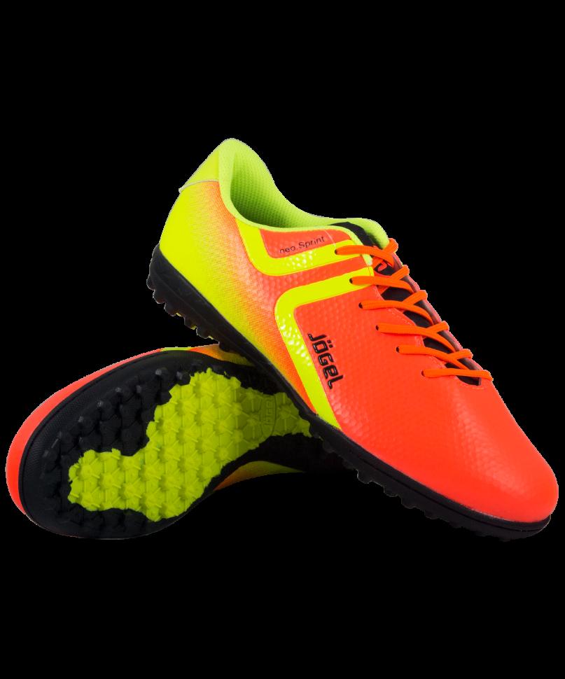 Футбольные бутсы Jogel Rapido JSH3001, оранжевые, 45 EU