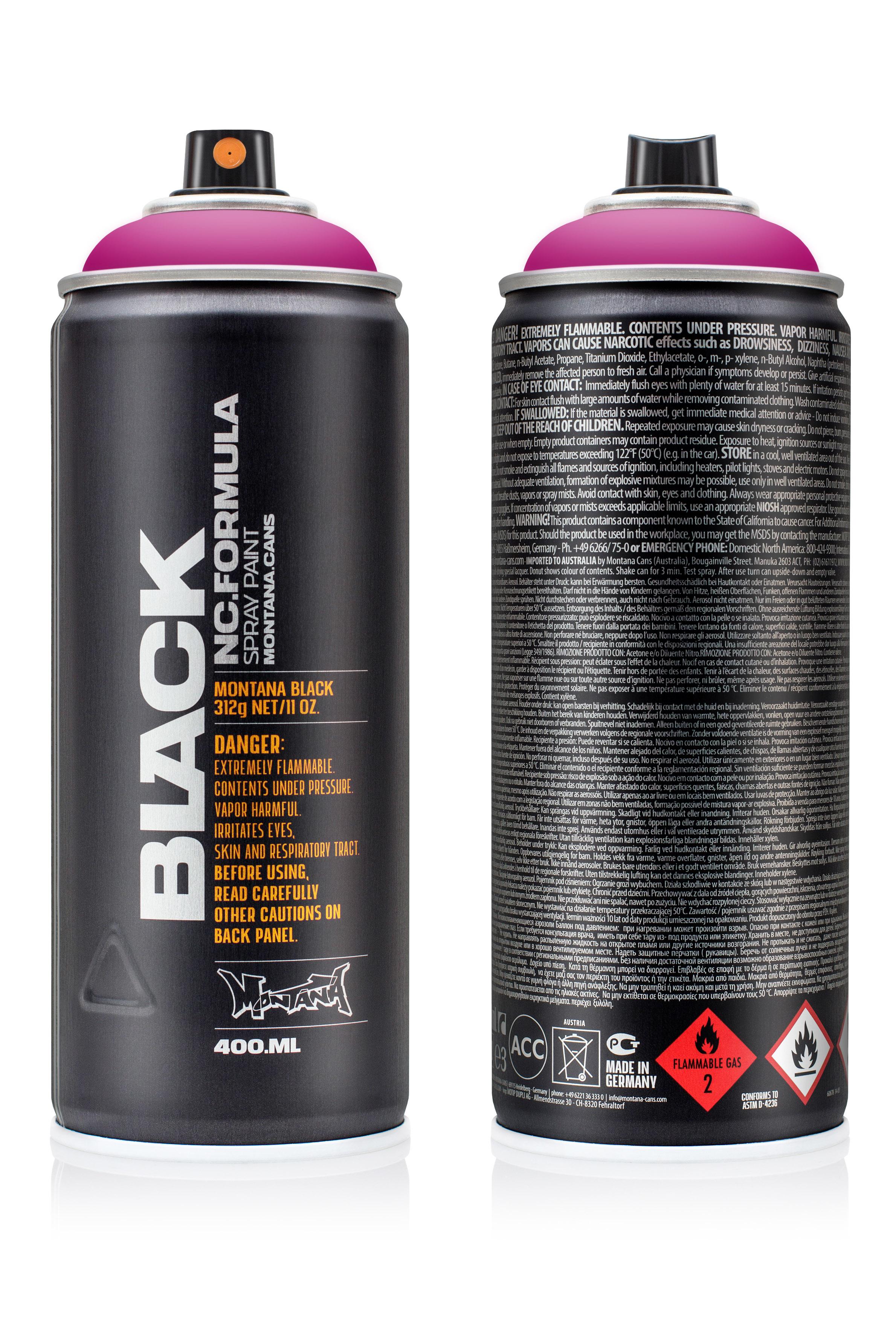 Аэрозольная краска Montana Black Good times 400 мл