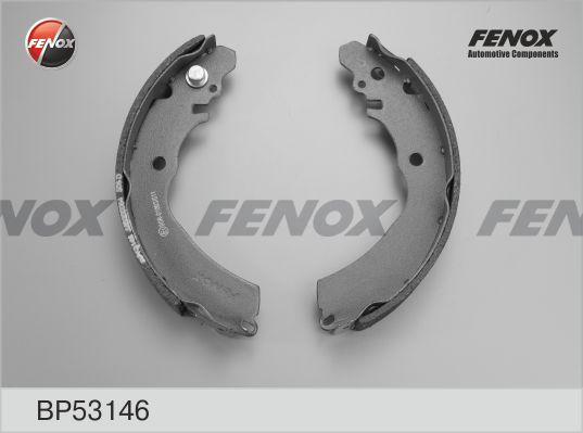 Комплект тормозных колодок FENOX BP53146