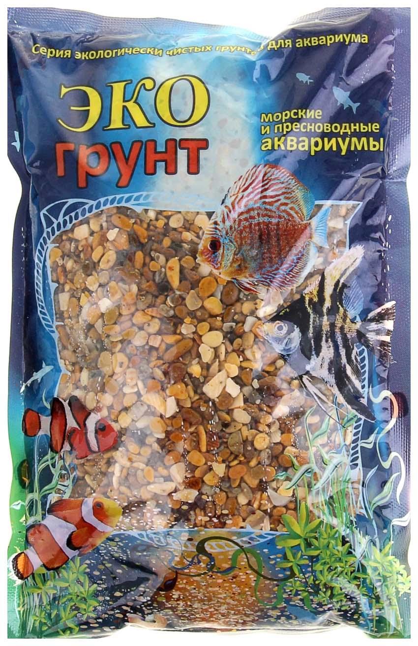 Грунт для аквариума ЭКОгрунт Галька Каспий