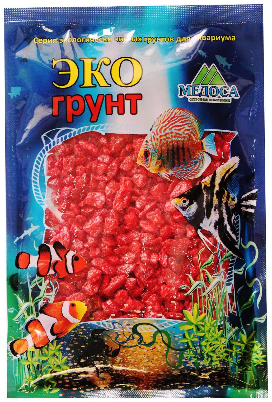 Грунт для аквариума ЭКОгрунт Мраморная крошка Красная