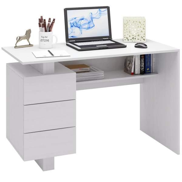 Компьютерный стол МФ Мастер Ренцо-2 МСТ-СРЕ-02-БТ-16 120x60x78, белый