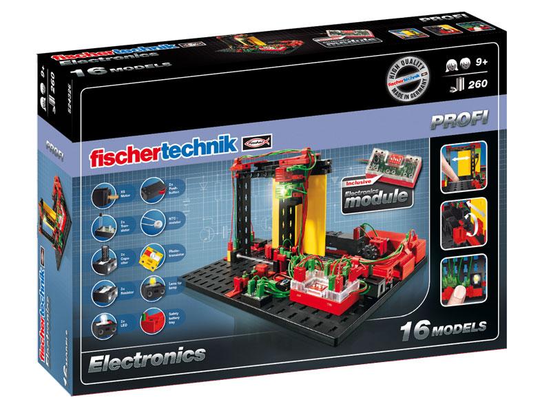 Купить Конструктор Fischertechnik PROFI Electronics/Электроника,