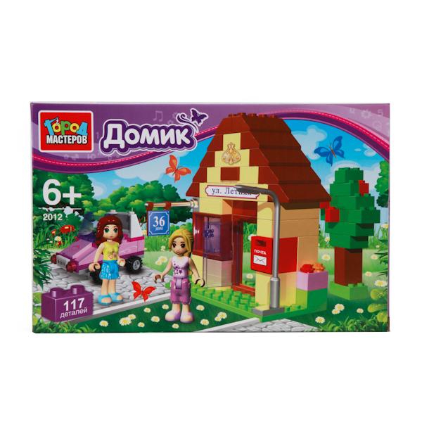 Конструктор Город мастеров Домик, 117 дет.