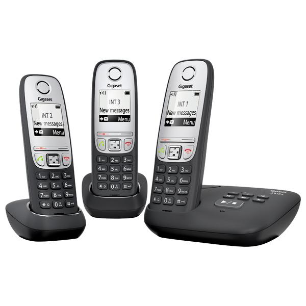 Телефон DECT Gigaset A415 TRIO RUS