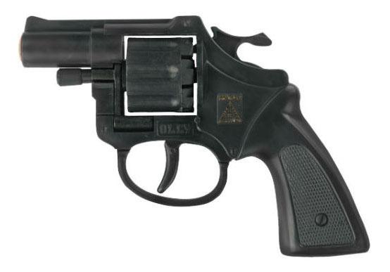 Пистолет игрушечный Olly 8 зарядные Gun, Agent