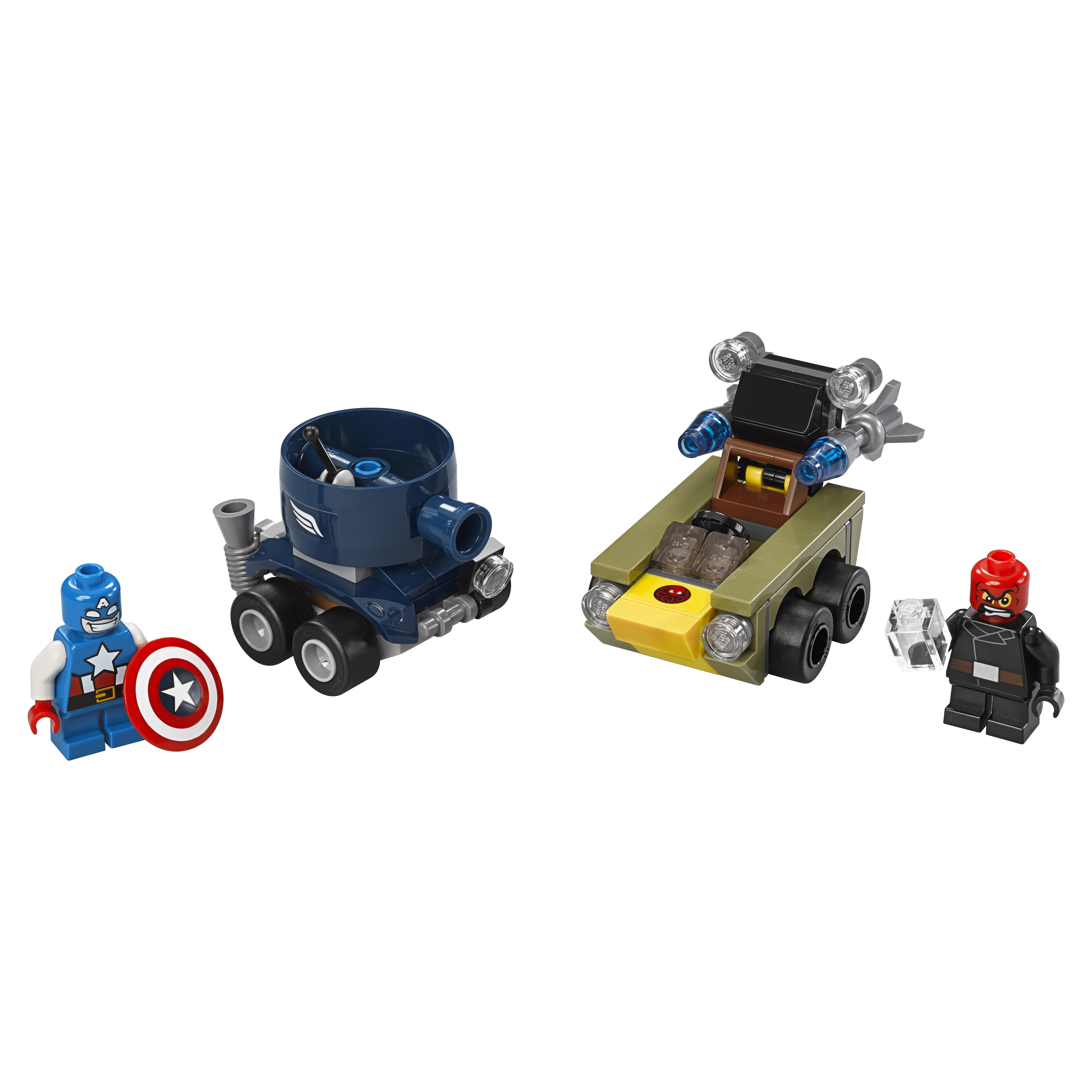 Конструктор LEGO Super Heroes Капитан Америка против Красного Черепа (76065)