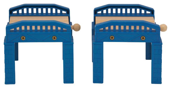 Железнодорожный набор Eichhorn Два моста 100001504 фото