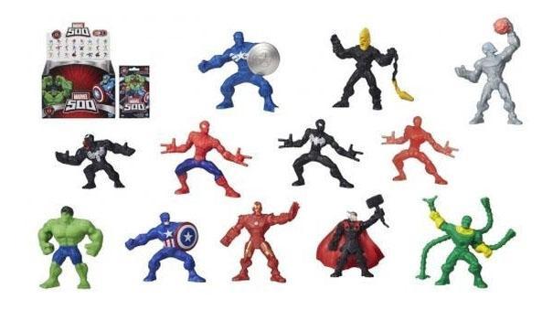 Купить 1 2-Inch Collectable Figures, Мини-фигурка Marvel Classic B2981 B4717, Игровые фигурки