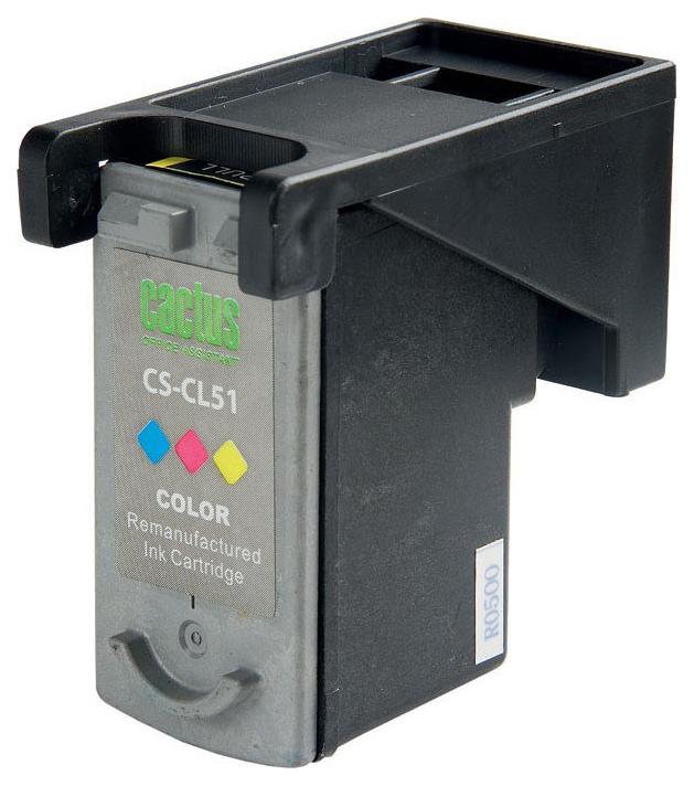 Картридж для струйного принтера Cactus CS-CL51 цветной