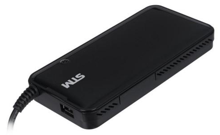 STM Блок питания для ноутбука Storm Dual DLU90 универсальный 20В 2.1А 7 адаптеров черный