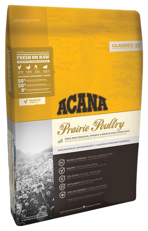 Сухой корм для собак ACANA Classics Prairie Poultry, индейка, курица, овес, 0,34кг фото