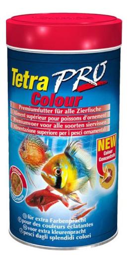 Корм для декоративных рыб Tetra PRO Colour, для улучшения окраса, чипсы, 500 мл фото
