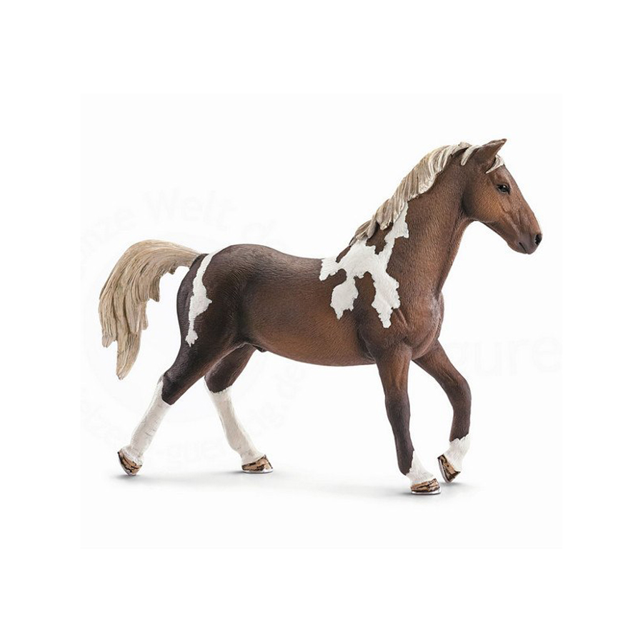 Купить Тракененская лошадь жеребец, Фигурка Schleich Тракененская лошадь. жеребец коричневый (13756), Фигурки животных
