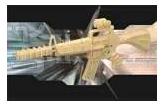 Модель для сборки Чудо-дерево Автомат Карабин-15