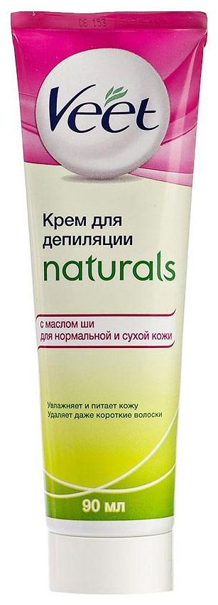 Крем для депиляции Veet Naturals c маслом