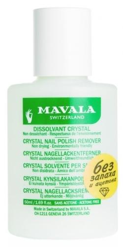 Жидкость для снятия лака MAVALA Crystal без запаха,