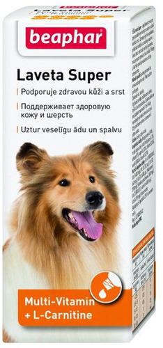 Витаминный комплекс для собак Beaphar Laveta Super,