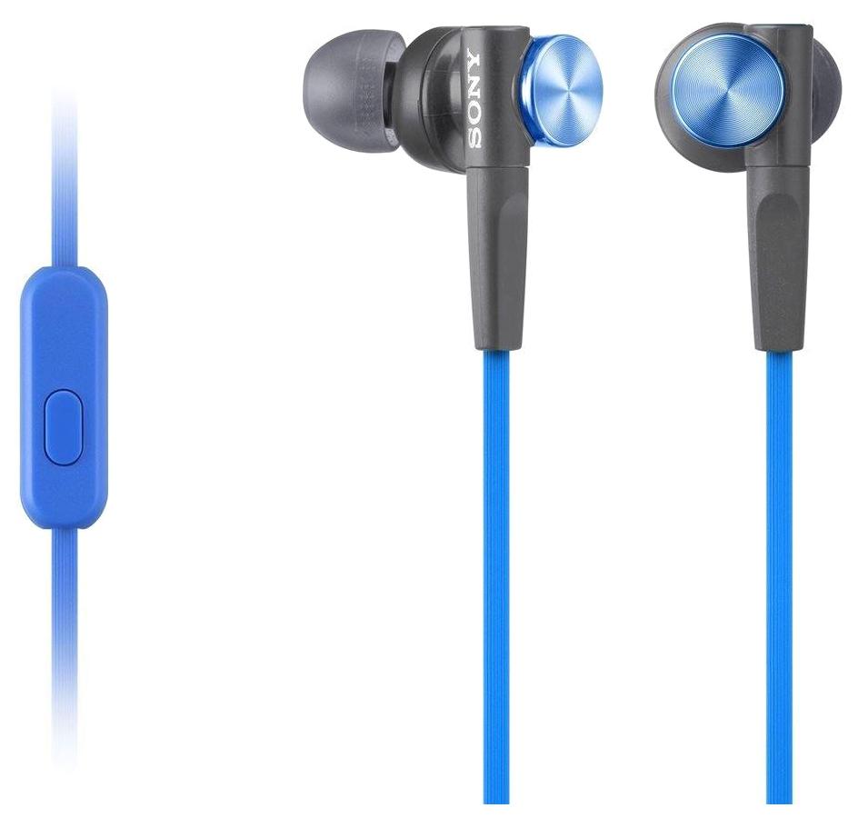 Наушники Sony MDR-XB50AP Blue