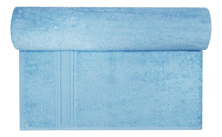 Банное полотенце Aisha голубой