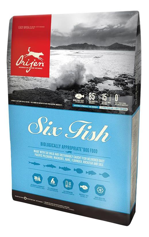 Сухой корм для собак Orijen Six Fish рыба 2кг.