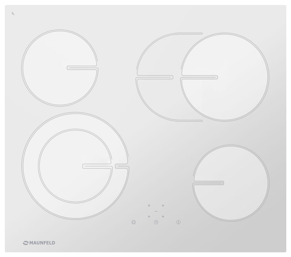 Встраиваемая варочная панель электрическая MAUNFELD MVCE59.4HL.1SM1DZT
