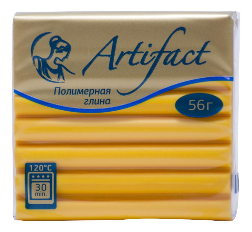 Глина для лепки Artifact Желтый классический фото