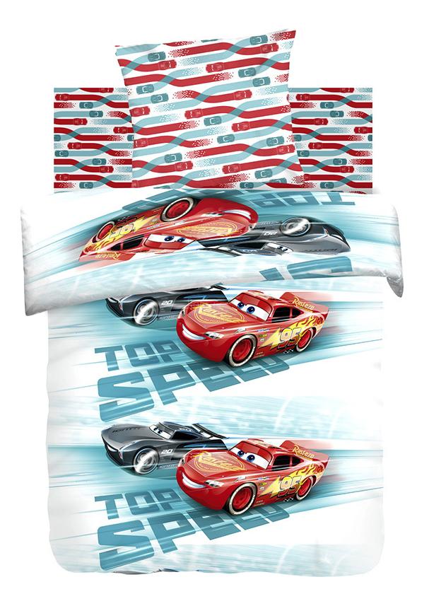 Комплект детского постельного белья Непоседа 1,5 хлопок Тачки Высокая скорость