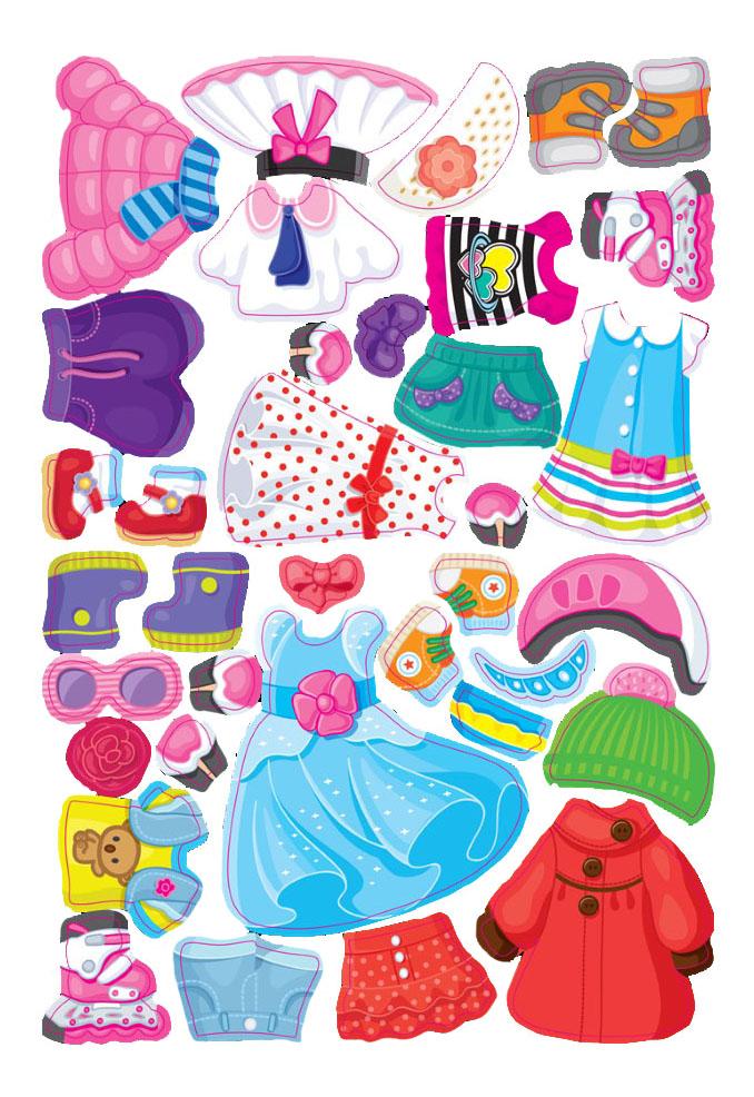 картинка Развивающая игрушка Десятое Королевство Одень куклу от магазина Bebikam.ru