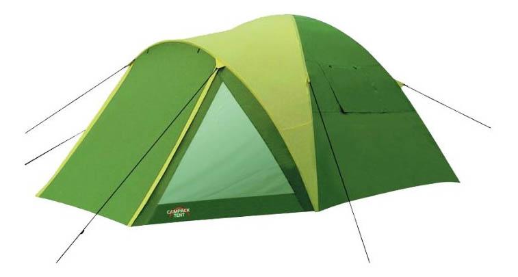 Палатка Campack-Tent Peak Explorer пятиместная зеленая