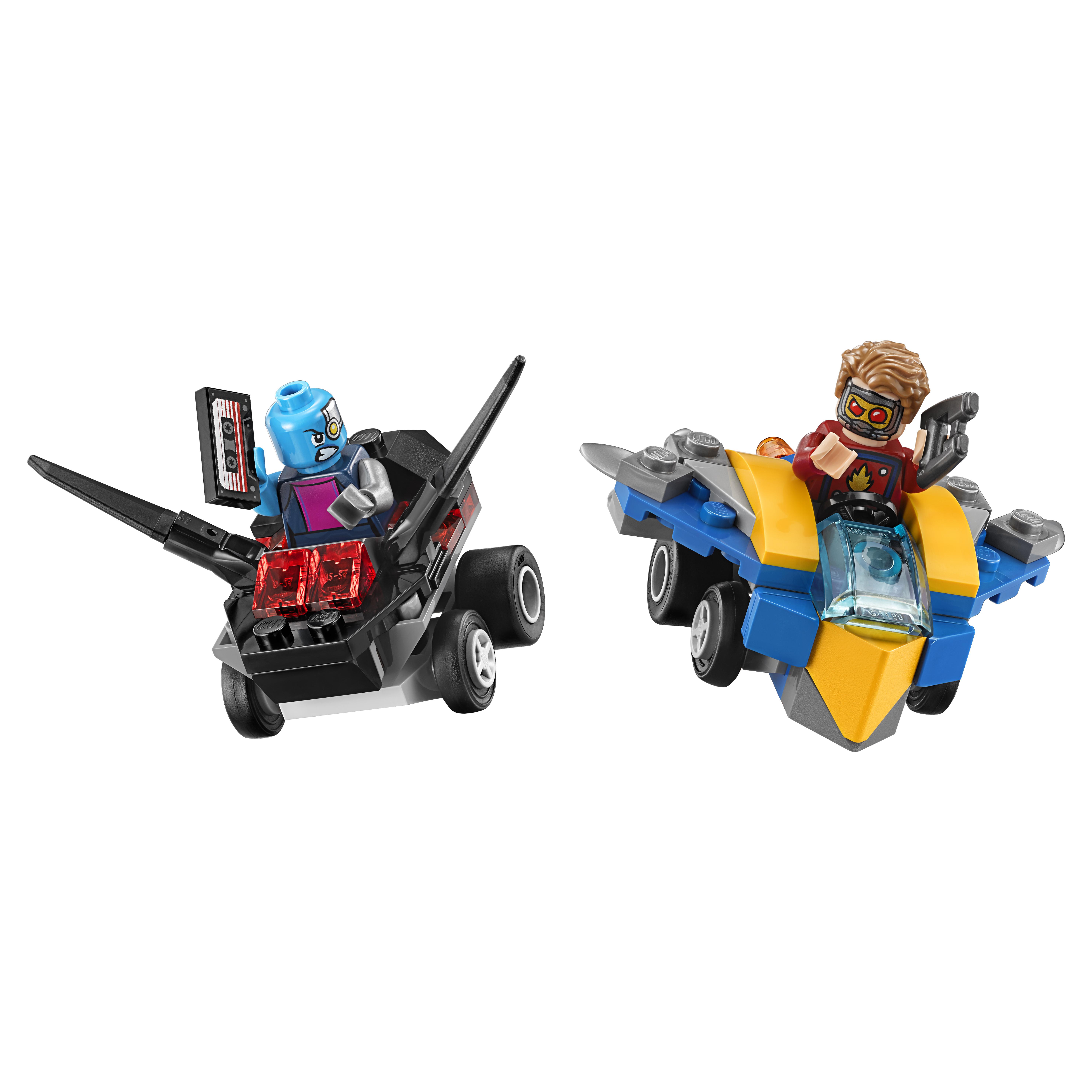 Купить Конструктор lego super heroes mighty micros звёздный лорд против небулы (76090), Конструктор LEGO Super Heroes Mighty Micros Звёздный Лорд против Небулы (76090)