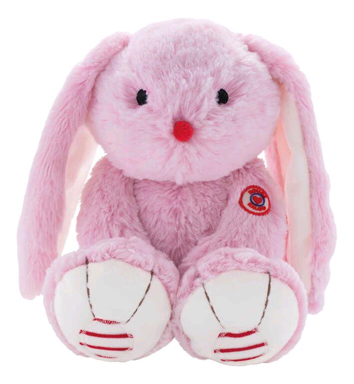 Купить Руж. Заяц розовый 19 см, Мягкая игрушка Kaloo Руж Заяц Розовый 19 см K963545, Мягкие игрушки животные