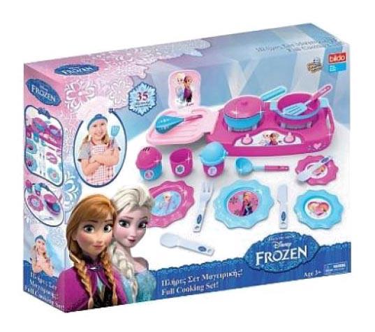 Набор посуды игрушечный Bildo Холодное сердце