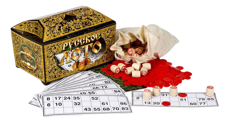 Купить Настольная игра Десятое Королевство Русское лото в ларце, Семейные настольные игры