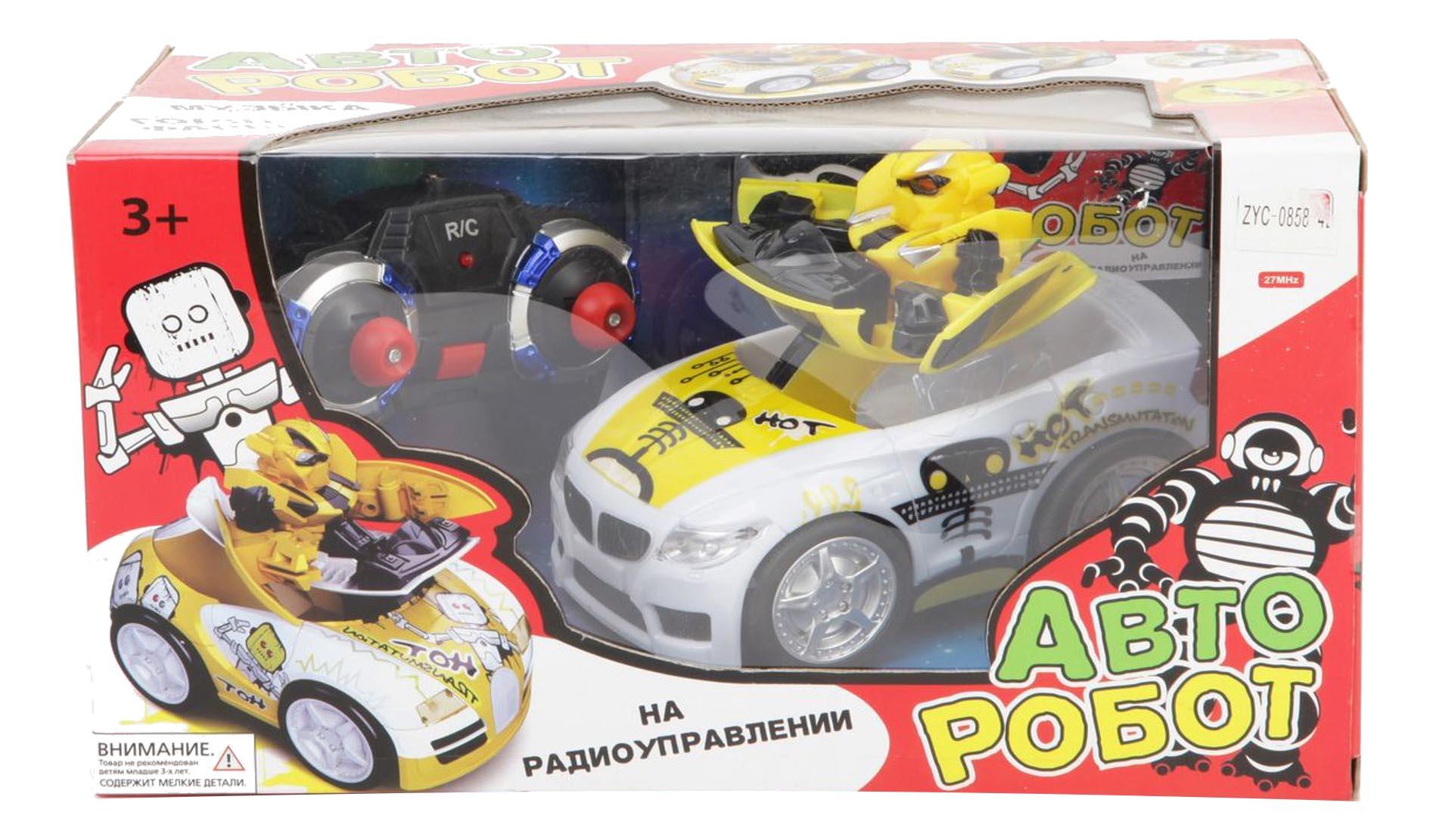 Радиоуправляемая машинка Zhorya Авто-робот фото
